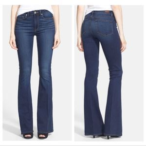 PAIGE | Canyon Flare Jeans Dark Wash Size 26